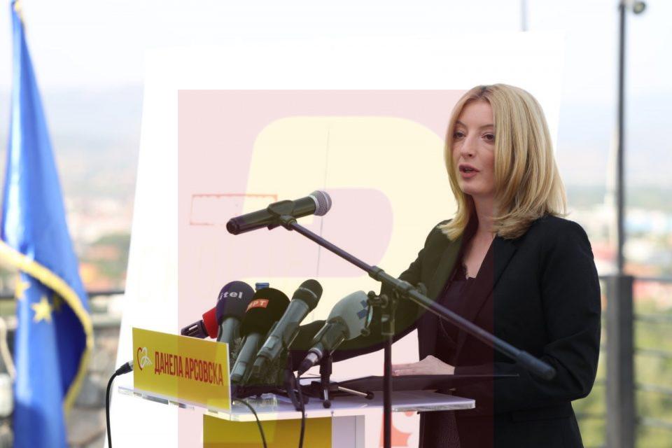 Арсовска ја претстави изборната програма, а во неа ја подбра и градската администрација