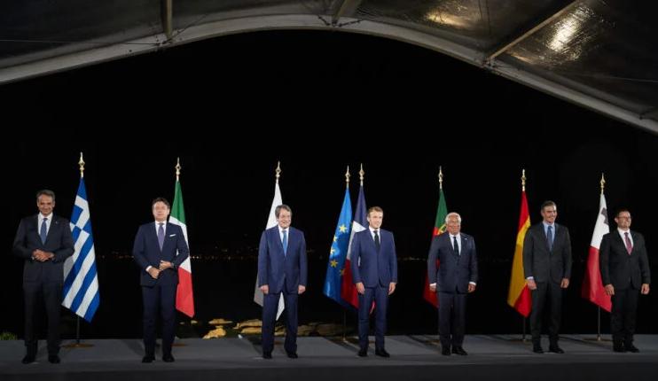 Во Атина се одржува медитеранскиот самит ЕУМЕД-9 со претседателката на Европската Комисија
