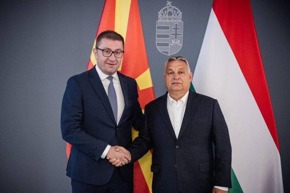 Поддршка од унгарскиот премиер Виктор Орбан за ВМРО-ДПМНЕ, Мицкоски и Македонија
