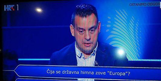 """Северномакедонштина во хрватски """"Кој сака да биде милионер"""""""