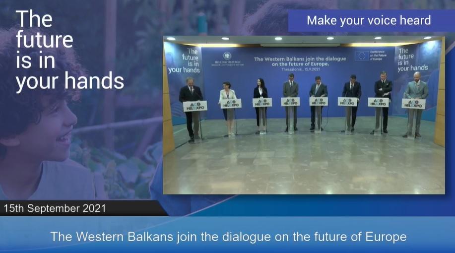 Поддршка од Словенија за ЕУ перспективата на Западен Балкан