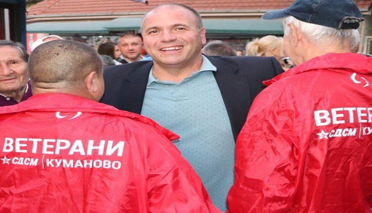 Ветераните на СДСМ од Куманово застанаа зад Максим Димитриевски