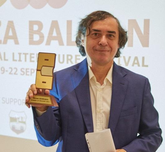 Врачена наградата на лауреатот Мирча Картареску