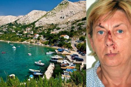 Жена која не се сеќава на својот идентитет е пронајдена меѓу острите карпи на хрватскиот остров