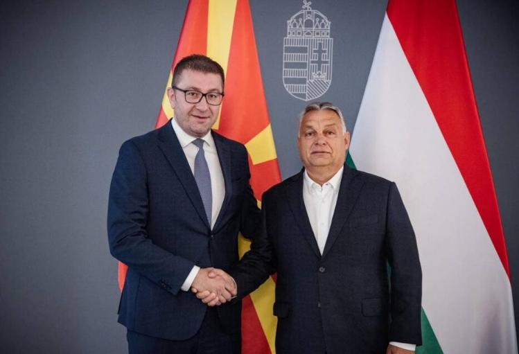 Поддршка од премиерот на Унгарија, Виктор Орбан за ВМРО-ДПМНЕ, Мицкоски и Македонија