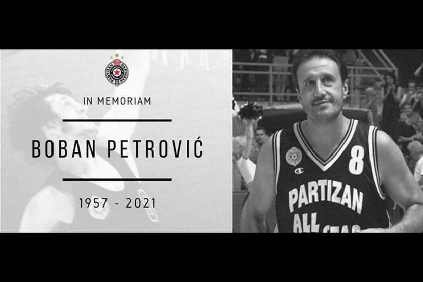 Почина Бобан Петровиќ, легендата на Партизан и на југословенската кошарка