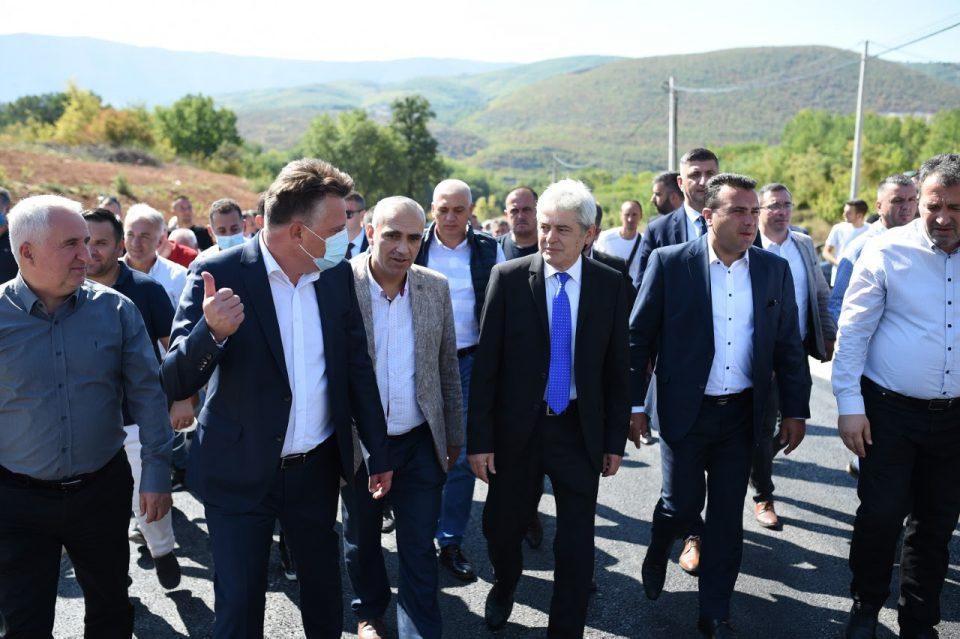 Заев, Ахмети и Шилегов во посета на Бојане