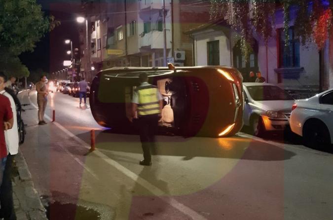 Ќерката на познат охридски бизнисмен се преврте со џипот