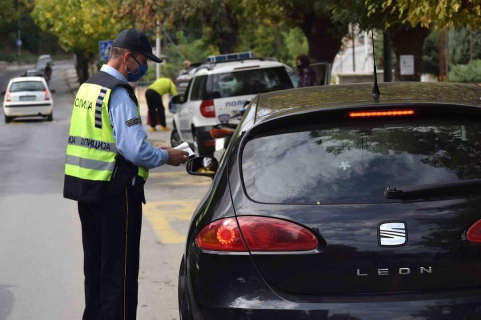 Полицајците од СВР Велес пишале 37 казни за пребрзо возење