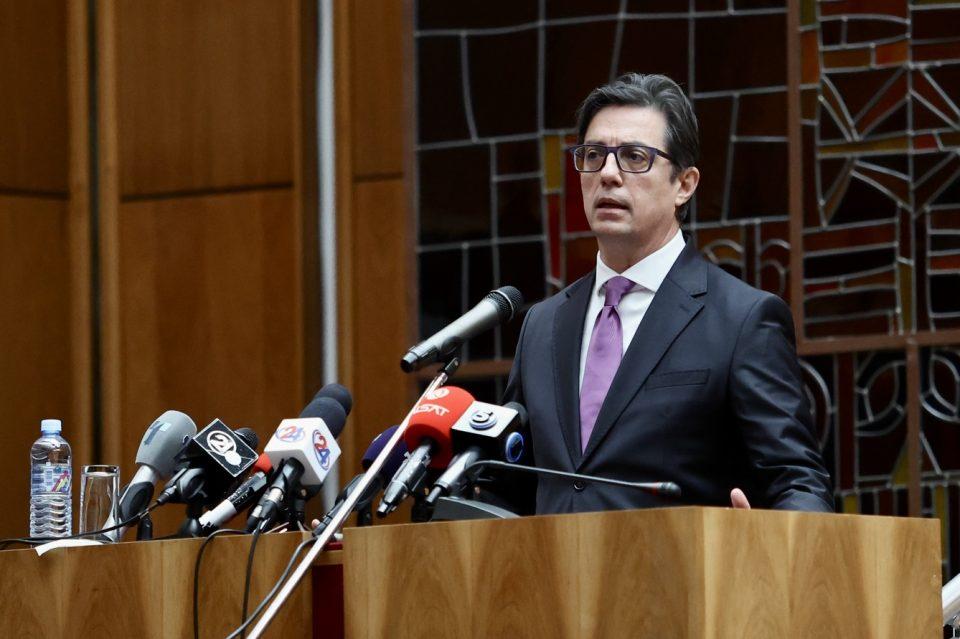 Пендаровски: Потребен ни е нов, широк национален и државен консензус
