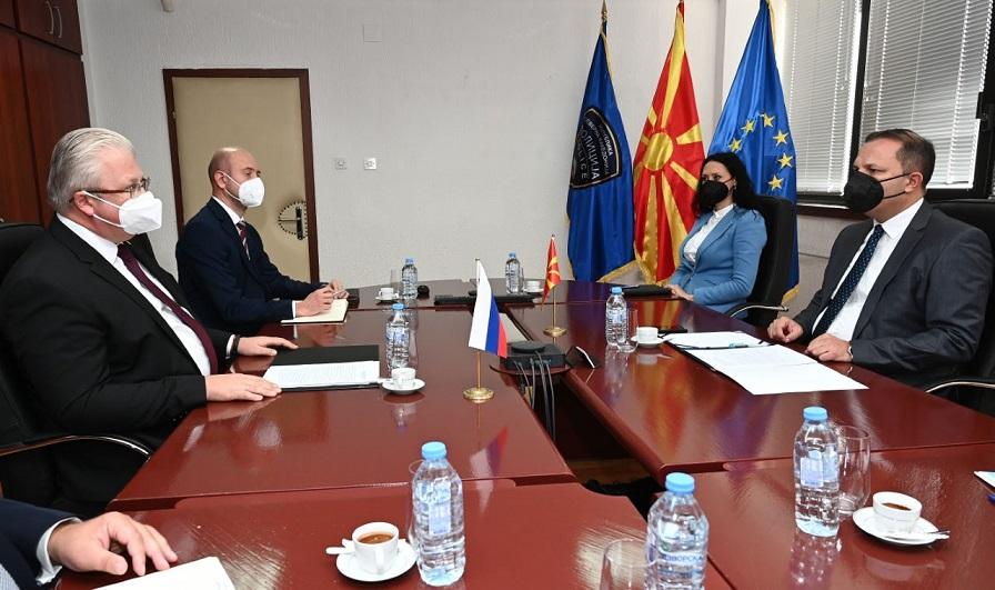 Спасовски се сретна со рускиот амбасадор