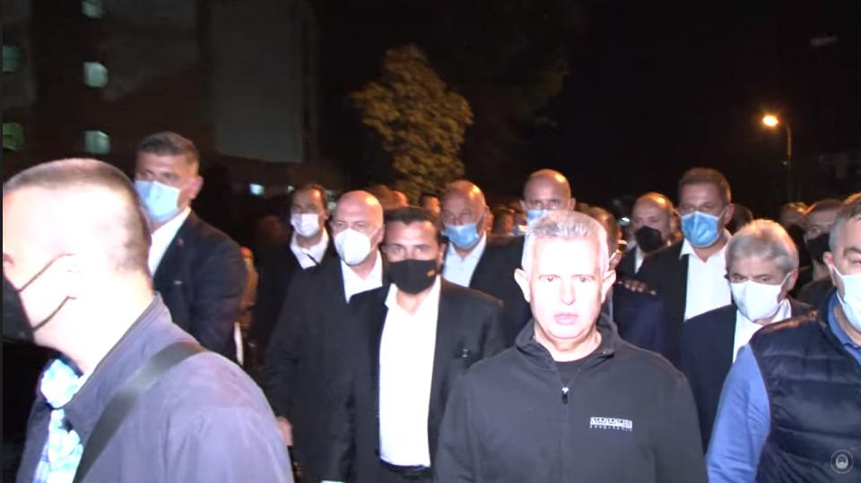 Лефков: Цела Влада направи политички увид на несреќата, а го поведоа и Ахмети за да биде коалиционен увидот