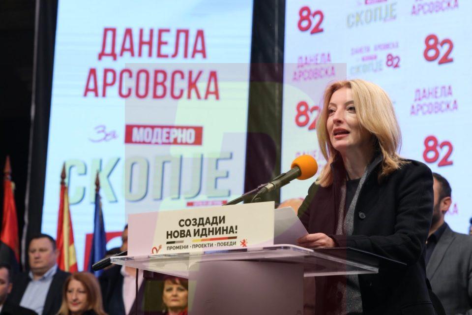 Арсовска од Бутел: Јас сум човек што доаѓа од народот и ќе работам заедно со граѓаните да го направиме Скопје подобро место за живеење