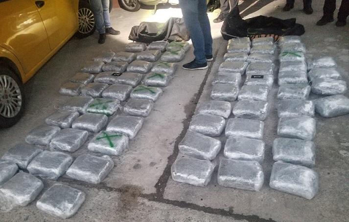Запленета дрога во вредност од 200.000 евра, шестмина уапсени: Пресечен меѓународен нарко-канал од Албанија кон Грција