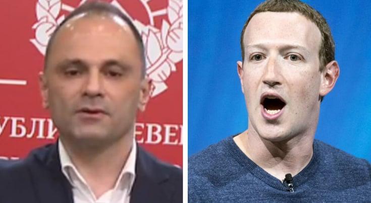 Филипче бара од милјардерот Зукерберг да си поднесе оставка од морални причини по паѓањето на Фејсбук